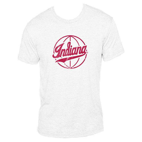 Indiana university Hoosiers Script Basketball - Heather White