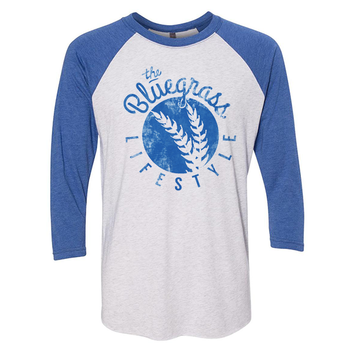 Bluegrass Lifestyle 3/4 Sleeve - White/Royal