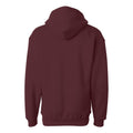 Loyola University Chicago Ramblers J America Stitch Arch Lace Up Hoodie - Maroon