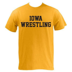 Block Iowa Wrestling - Gold