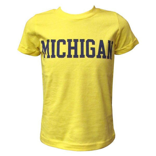 Michigan Youth American Apparel Short Sleeve - Sunshine