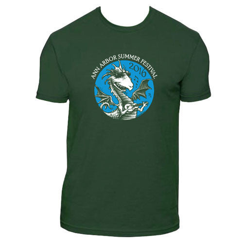 AASF16 DZ Dragon Tee - Forest Green