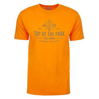 AASF16 Top Crossed Tee - Orange