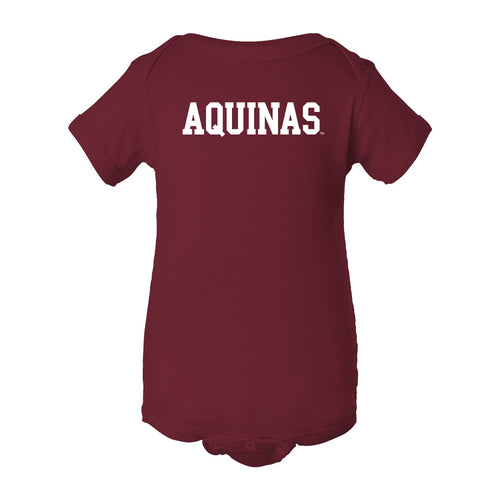 Aquinas Basic Block Creeper - Garnet