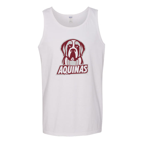 Aquinas College Saints Primary Logo Tank Top - White