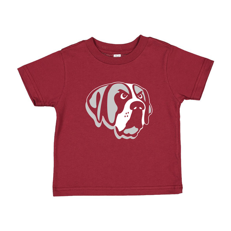 Aquinas Primary Logo Toddler T Shirt - Garnet