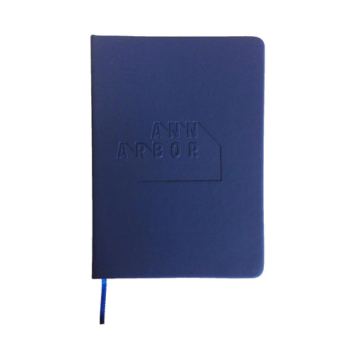 DA2 Debossed Notebooks - Navy - $4.39