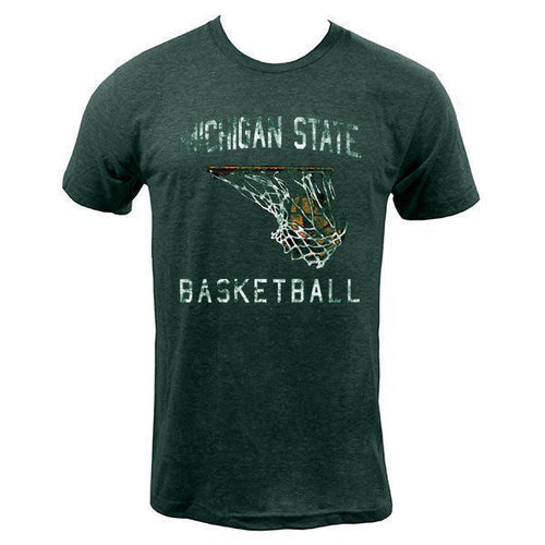 Michigan State Basketball Hoop - Heather Forest