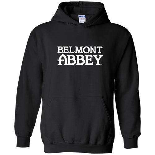 Belmont Abbey College Crusaders Basic Block Hoodie - Black