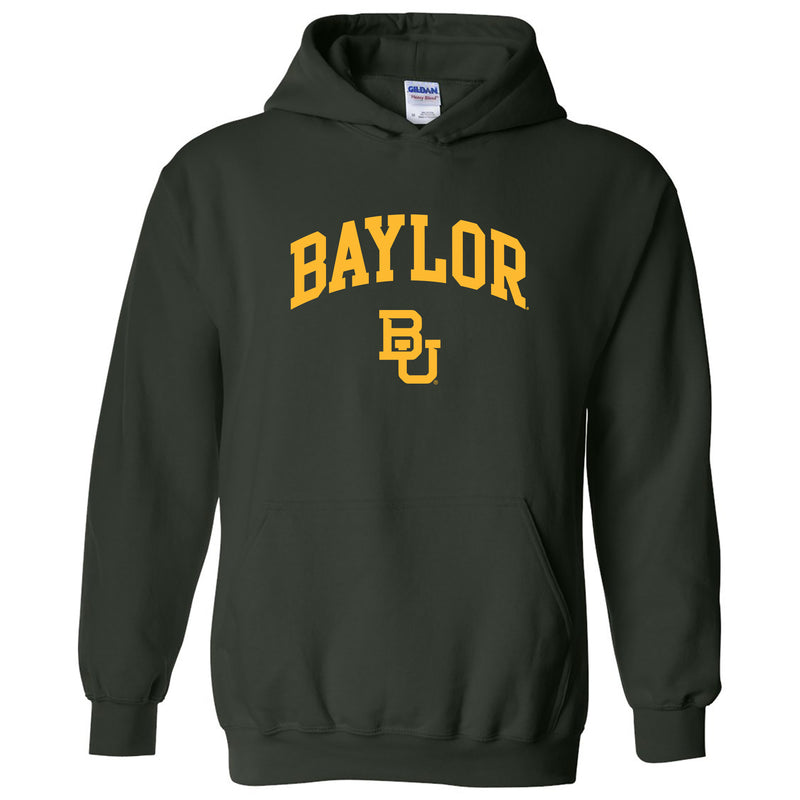 Baylor University Bears Arch Logo Hoodie - Forest