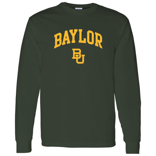 Baylor University Bears Arch Logo Long Sleeve - Forest