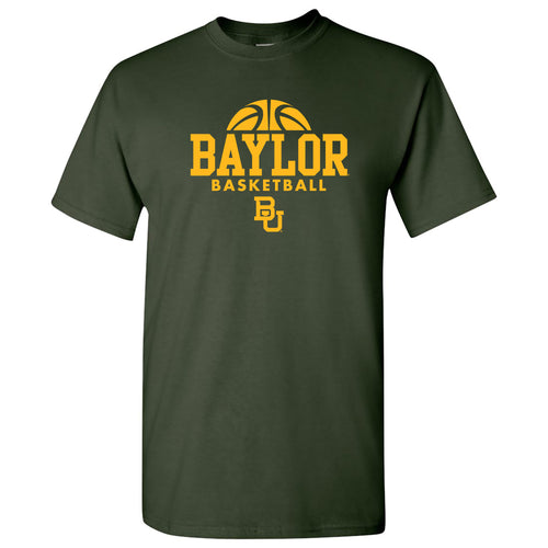 Baylor University Bears Basketball Hype Short Sleeve T Shirt - Forest