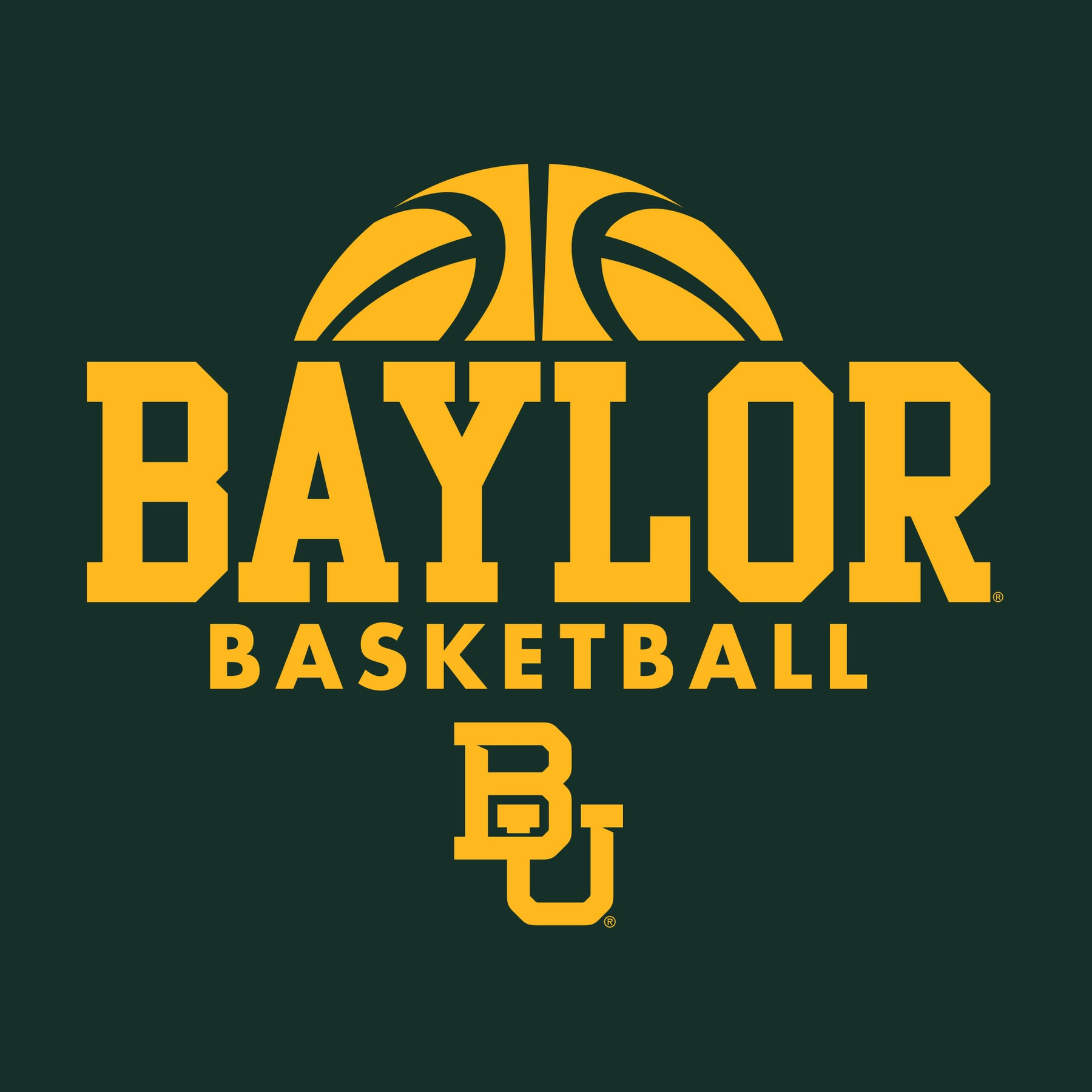 Baylor University Bears Basketball Hype Short Sleeve T Shirt - Forest –  Underground Printing