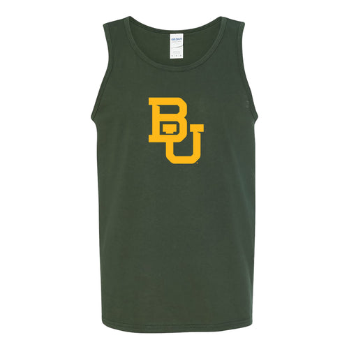 Baylor University Bears Interlocking BU Tank - Forest