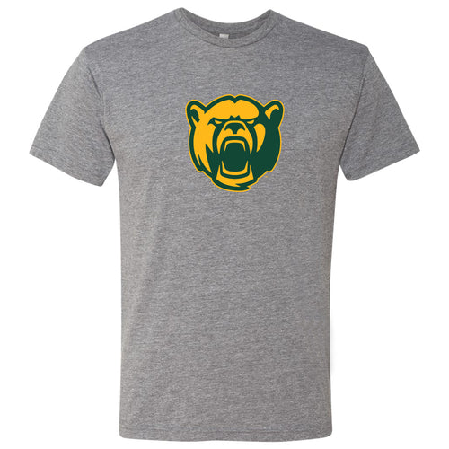 Baylor University Bear Logo Next Level Short Sleeve T Shirt - Premium Heather