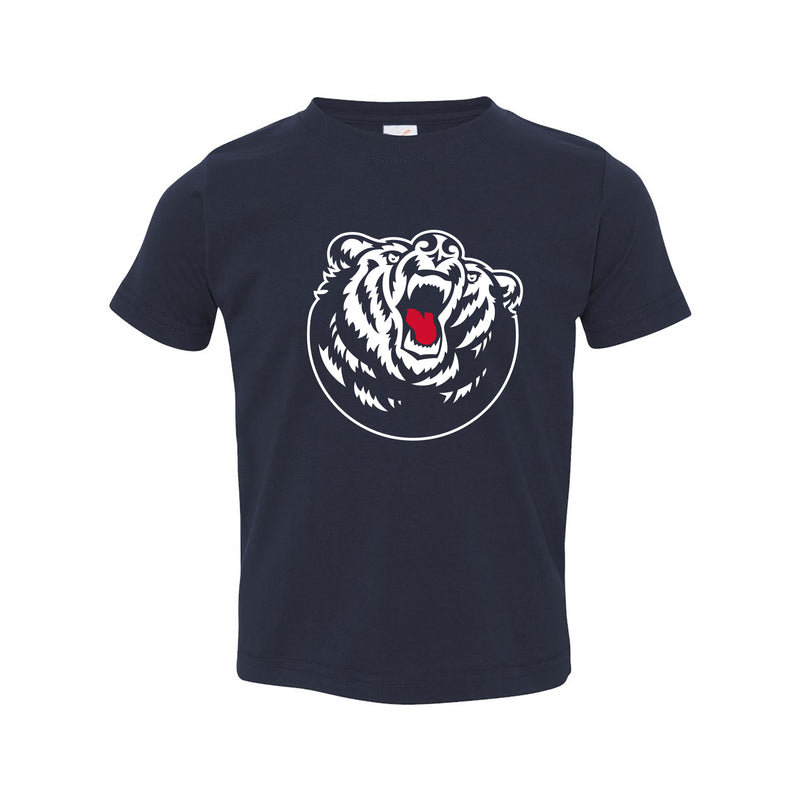 Belmont University Bruins Primary Logo Rabbit Skins Toddler T Shirt - Navy