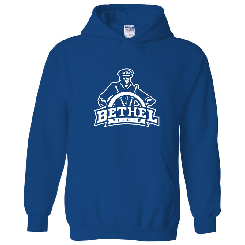 Bethel University Pilots Primary Logo Hoodie - Royal