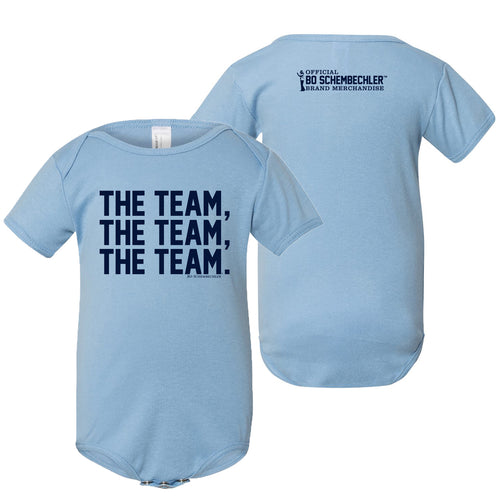 Bo Schembechler The Team The Team The Team Creeper - Baby Blue