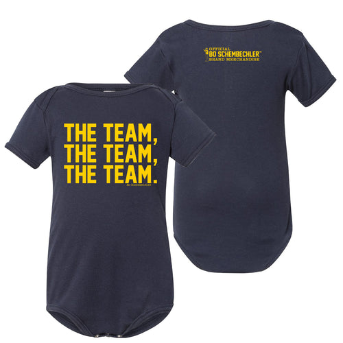 Bo Schembechler The Team The Team The Team Creeper - Navy