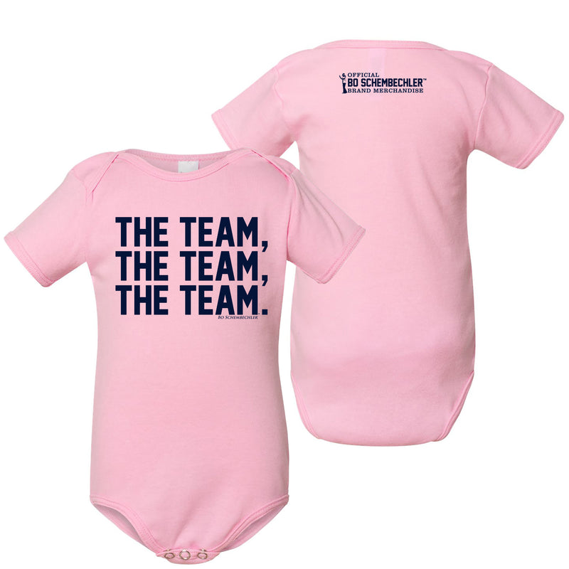Bo The Team, The Team, The Team American Apparel Creeper - Pink