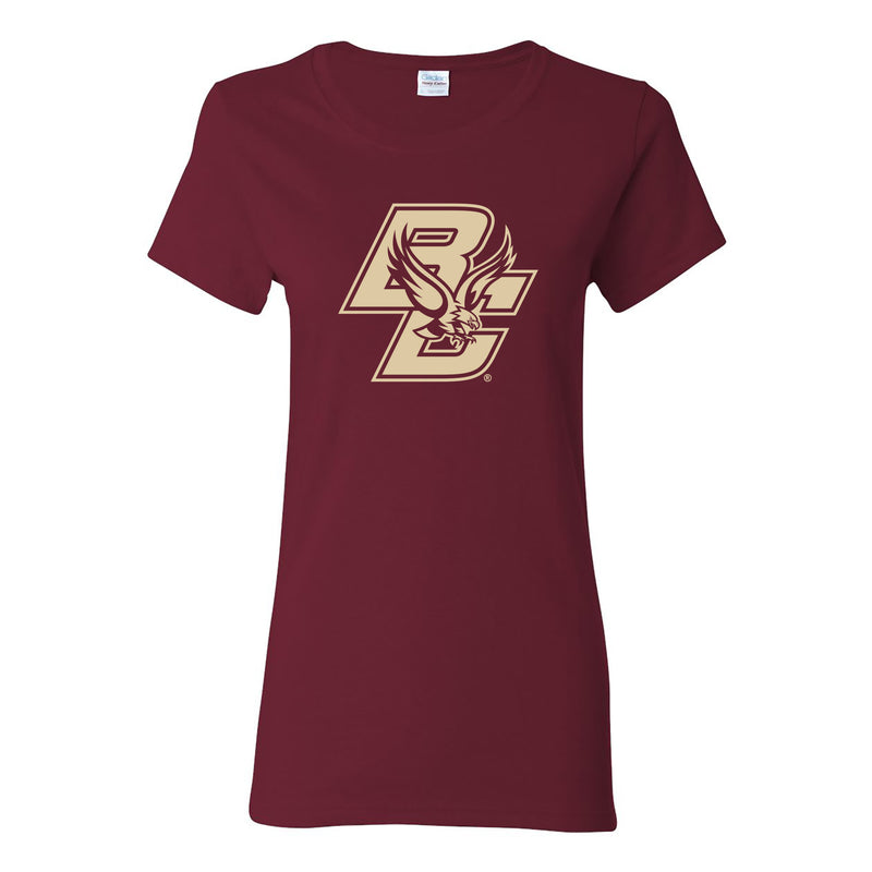 Boston College Primary Logo Womens T-Shirt - Garnet
