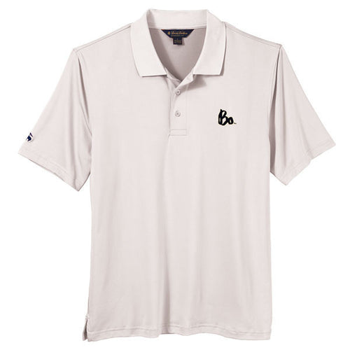 Bo Sig Brooks Brothers Solid Jersey Polo - Bright White
