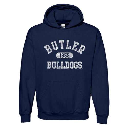Butler Athletic Arch Hoodie - Navy