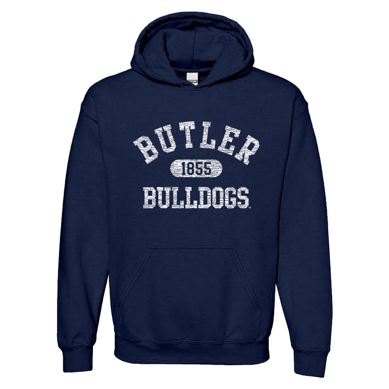 Butler University Bulldogs Athletic Arch Hoodie - Navy