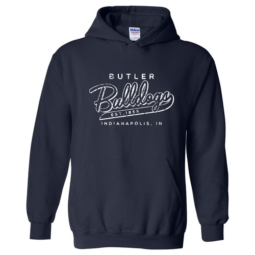 Butler University Bulldogs Road Trip Heavy Blend Hoodie - Navy