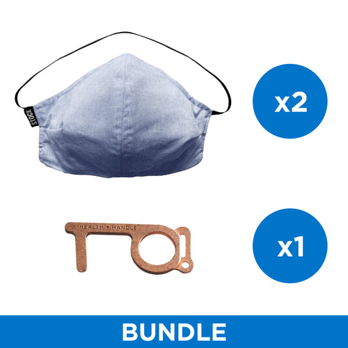 Back To Work Bundle - Premium - Blue Chambray