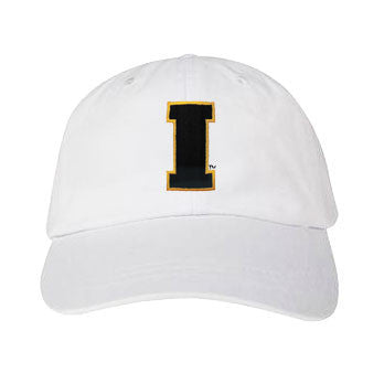 Iowa Block I Emb Hat - White
