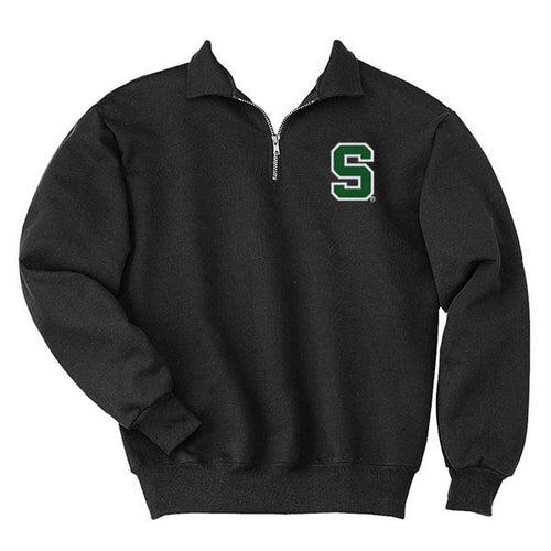 Block S 1/4 Zip Pullover - Black
