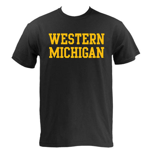 Block Western Michigan - Black