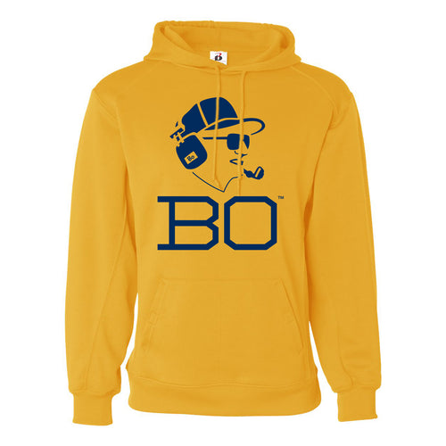 Bo Schembechler Headset Badger Performance Fleece Hoodie - Gold