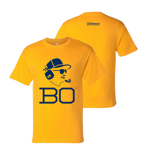 Bo Schembechler Headset Champion T-Shirt - Gold