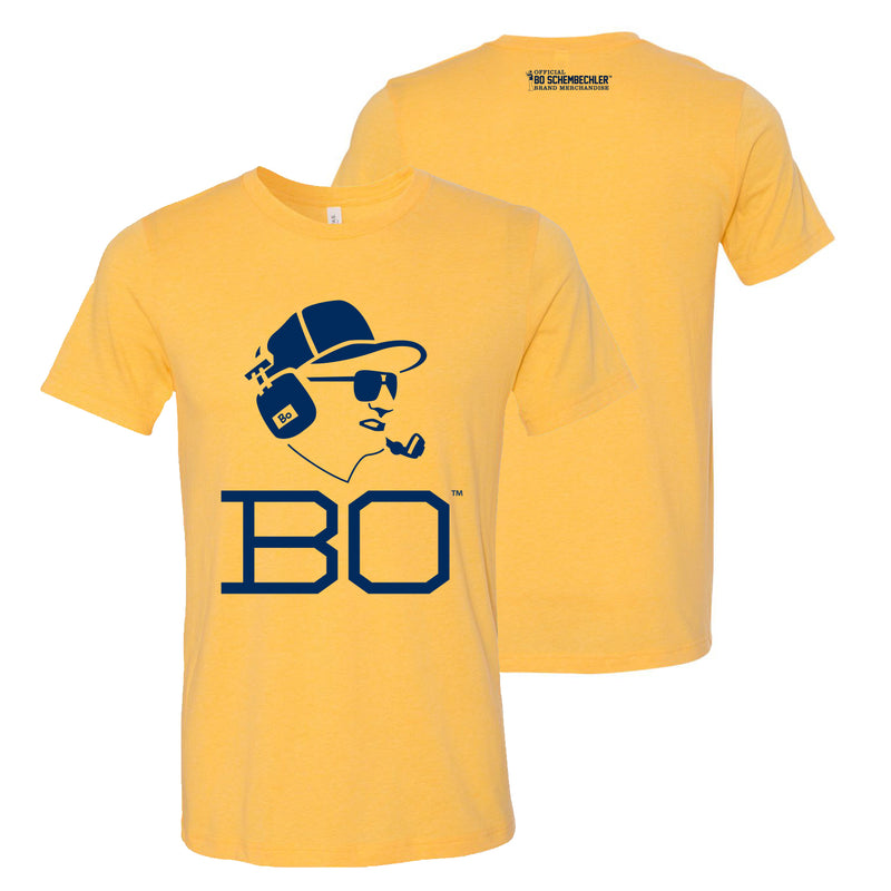 Bo Headset Canvas T-Shirt - Heather Yellow Gold
