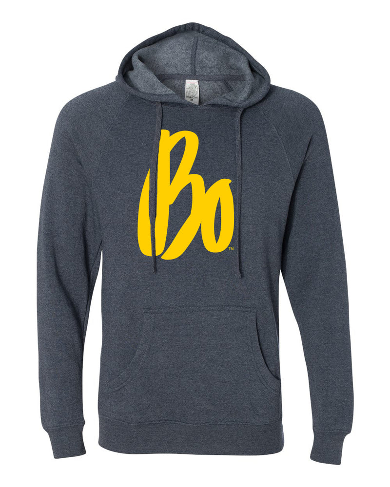 Bo Schembechler Signature Next Level Hoodie -  Midnight Navy