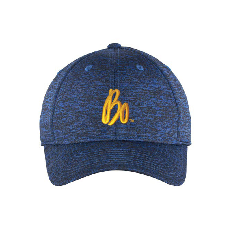 Bo Schembechler Signature Electric Heather Adjustable Hat - Royal/Black Electric