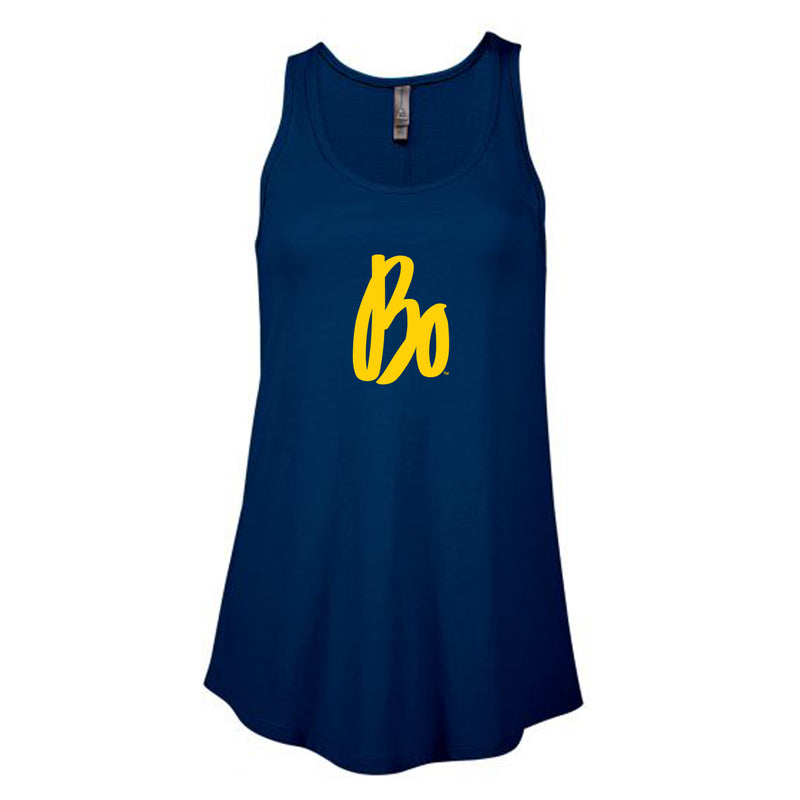 Bo Sig Ladies Delta Flowy Tank - Harbor Blue