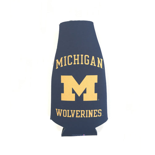 Michigan Wolverines Bottle Hugger – Navy