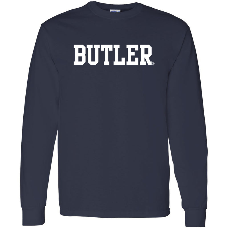 Butler Basic Block Long Sleeve - Navy