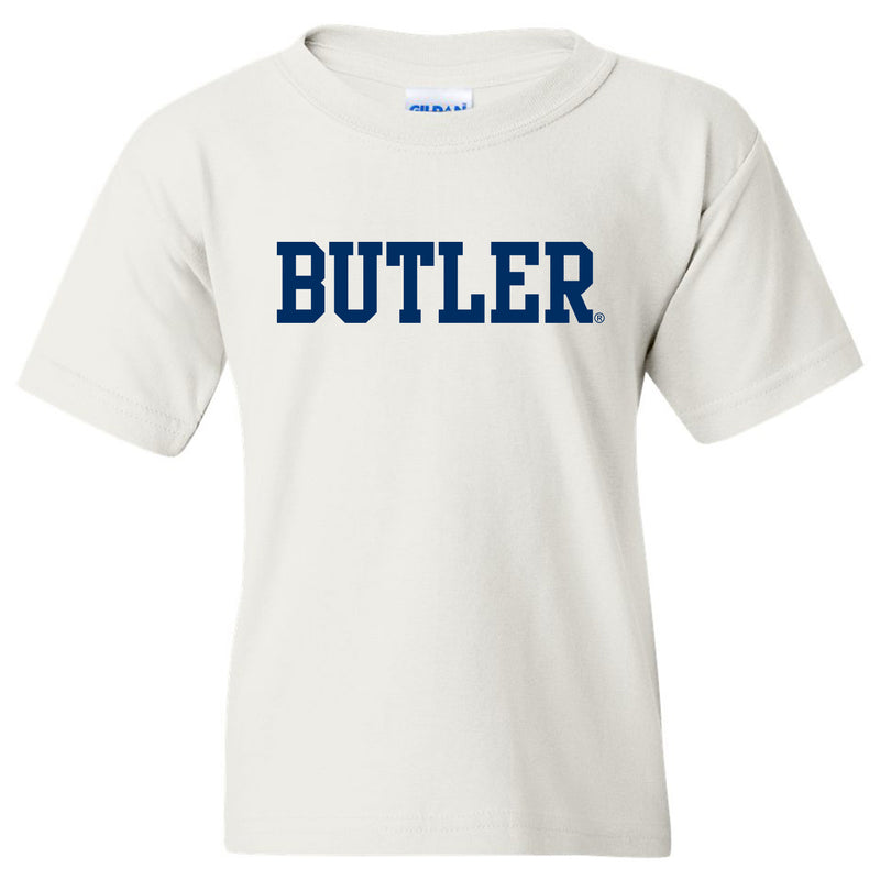Butler Basic Block Youth T Shirt - White