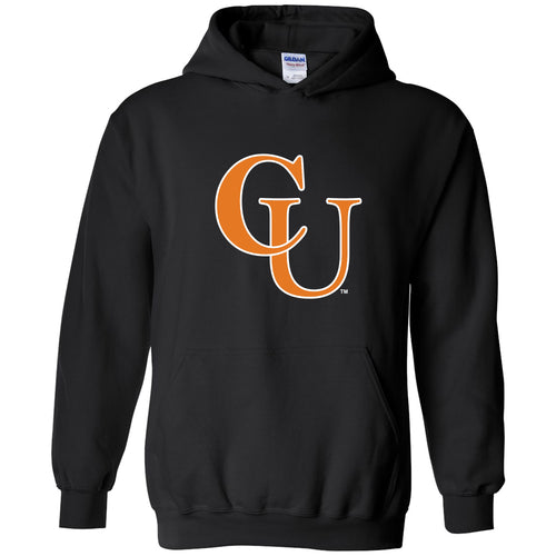 Campbell University Fighting Camels Primary Logo Heavy Cotton Blend Hoodie - Black