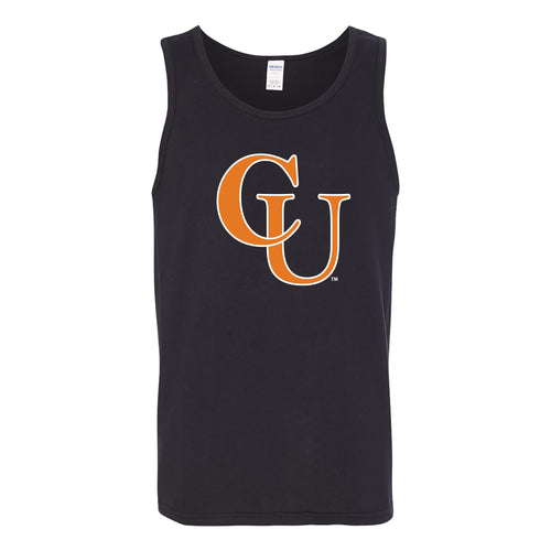 Campbell University Fighting Camels Primary Logo Heavy Cotton Tank Top - Black