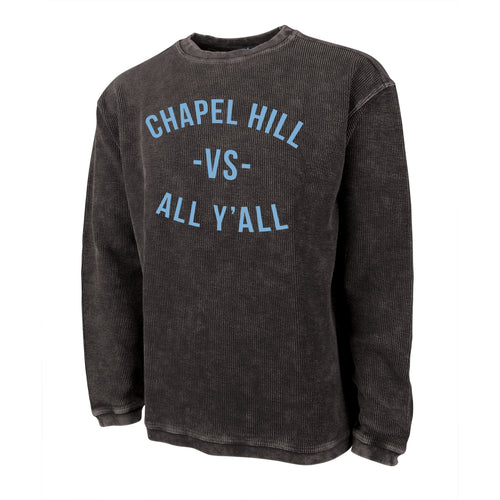 Chapel Hill VS All Yall Camden Crew Sweatshirt - Vintage Black