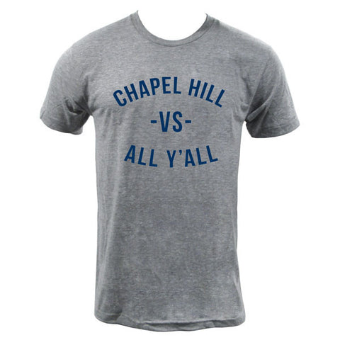 Chapel Hill VS All Y'all Tee - Athletic Grey