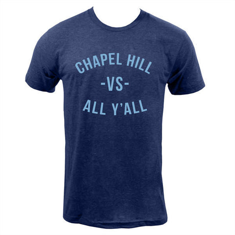 Chapel Hill VS All Y'all Tee - Tri Indigo