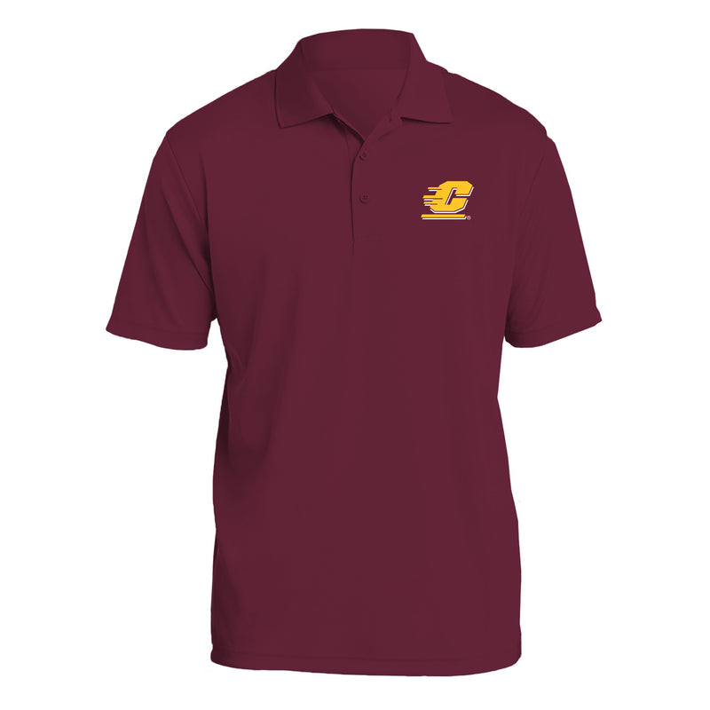 Central Michigan University Chippewas Action C Sport-Tek Polo - Maroon