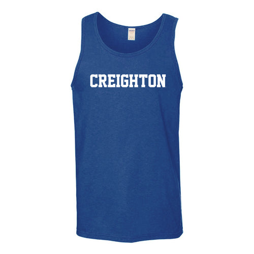 Creighton University Bluejays Basic Block Tank Top - Royal