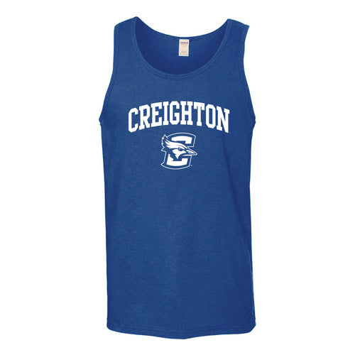 Creighton University Bluejays Arch Logo Tank Top - Royal